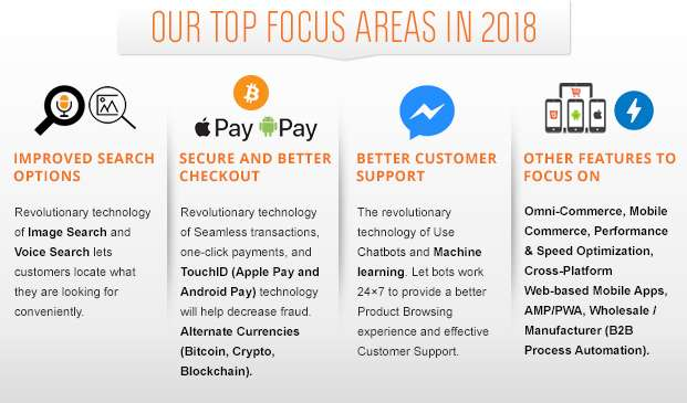 Top Focus Areas For Online Businesses In 2018!