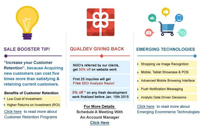 Sale Booster Tip - Qualdev Giving Back - Emerging Technologies