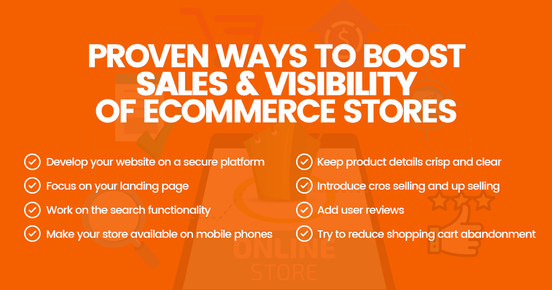 Proven Ways to Boost Sales and Visibility of eCommerce Stores