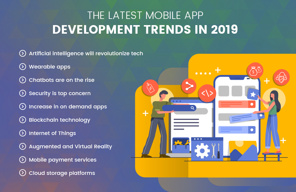 The Latest Mobile App Development Trends In 2019