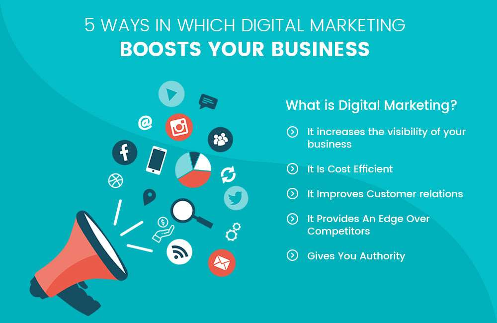 5 ways in which digital marketing boosts your business