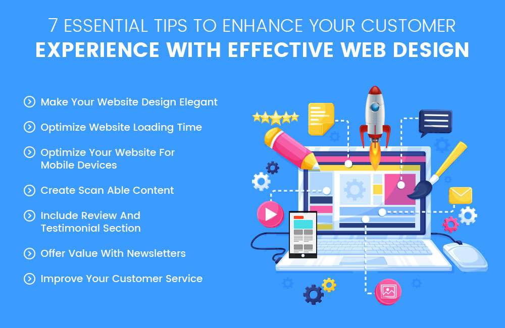 Essential Tips To Enhance Your Customer Experience with Effective Web Design