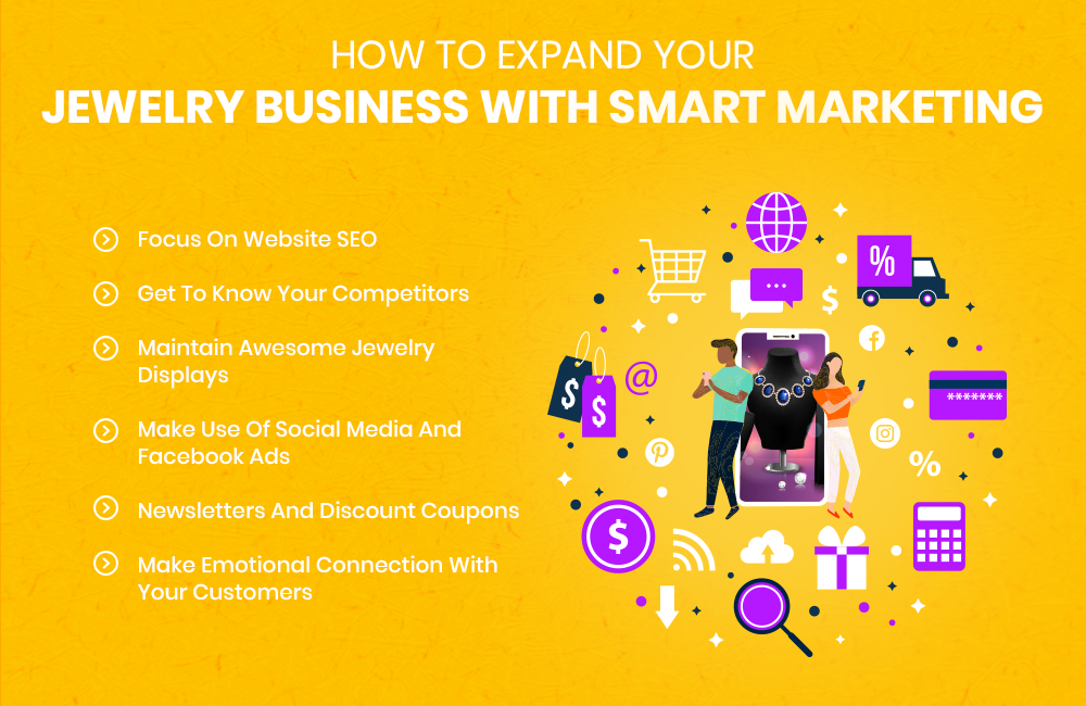 Expand Your Jewelry Business With Smart Marketing