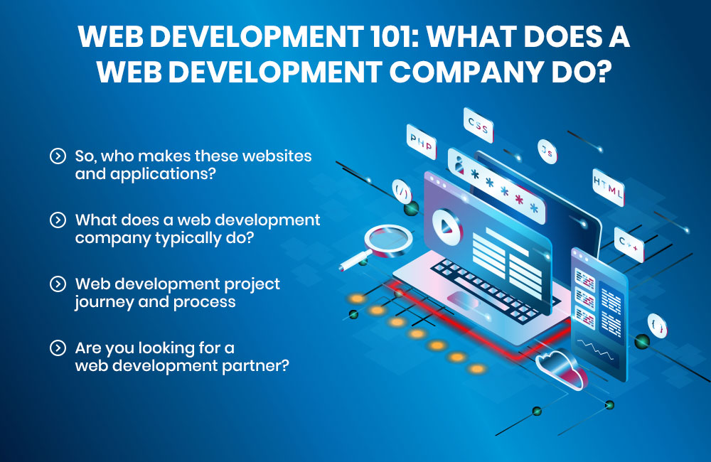 Web Development 101: What Does a Web Development Company Do?
